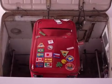 AIB Red Suitcase Advert