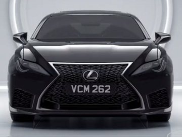 Lexus RC F Men in Black: International Commercial