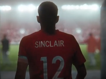 Nike Canada Sinclair Jersey Commercial