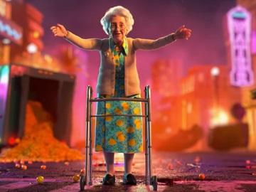 vitaminwater Grandma's Big Hug 4 Commercial