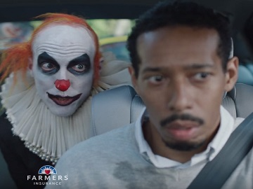 Farmers Insurance Clowns Commercial