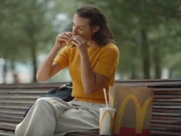 McDonald's Fresh Beef Quarter Pounder Commercial Actress