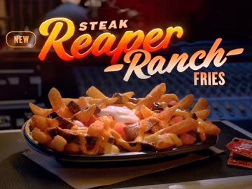 Taco Bell Reaper Ranch Fries Commercial