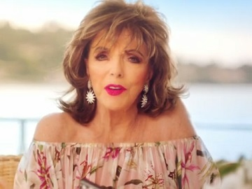 Three UK Joan Collins Advert