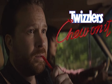 Twizzlers Guy in the Car Commercial
