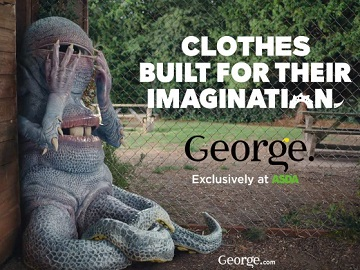 George at Asda Monster Advert