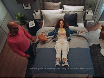 IKEA People Falling Asleep Commercial