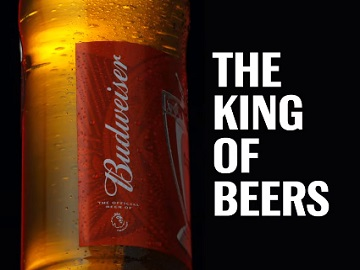 Budweiser UK Advert King