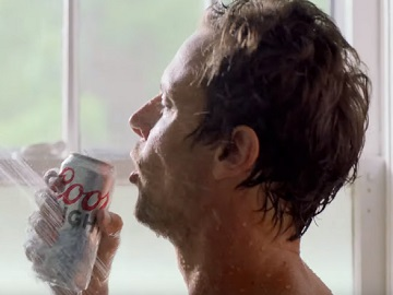 Coors Light Official Beer of Drinking in the Shower Commercial