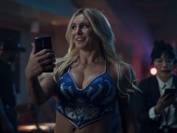 Cricket Wireless Charlotte Flair Commercial