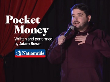 Nationwide Advert - Comedian Adam Rowe