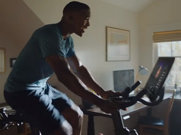 Peloton Playlists Commercial Guy