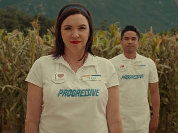 Progressive Flo in the Cornfields Commercial