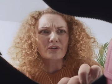 Royal Bank of Scotland Curly Woman Advert