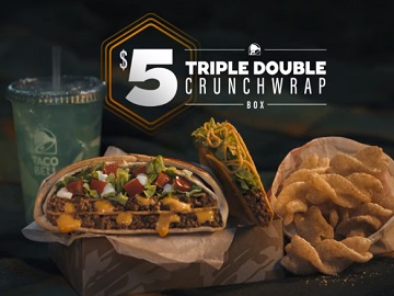 Taco Bell Triple Double Crunchwrap Commercial