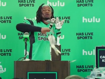 Hulu Commercial - Todd Gurley's Catfluencer