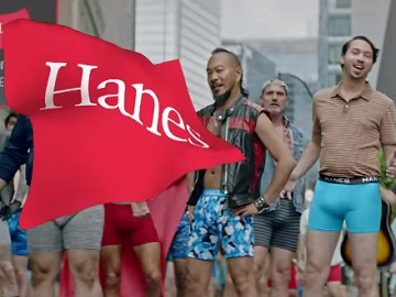 Hanes Commercial Actors