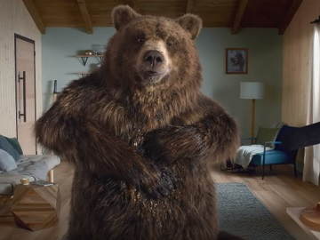 Samsung EcoBubble Bear Commercial