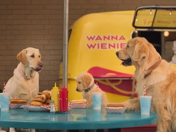 Subaru Crosstrek Commercial: Dogs at Hot Dog Stand