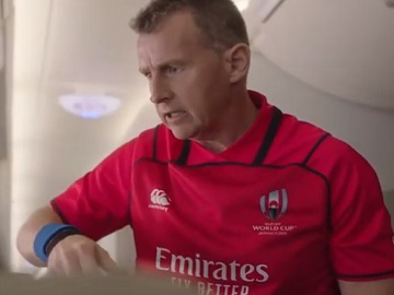 Emirates Rugby Referee Nigel Owens Commercial