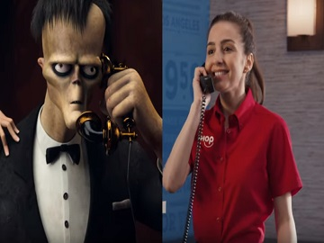 IHOP Addams Family Menu Commercial