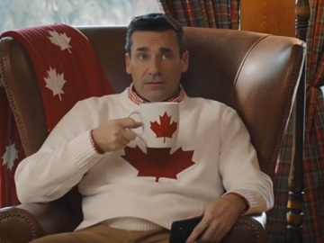 SkipTheDishes Commercial - Jon Hamm is Canadian