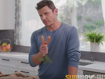 Subway Ugly Veggie Rescue Commercial - Nick Lachey