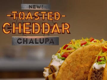 Taco Bell Toasted Cheddar Chalupa Commercial