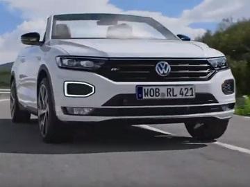 Volkswagen T-Roc Cabriolet Commercial