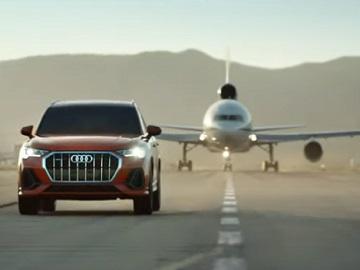 Audi Q3 Plane Commercial