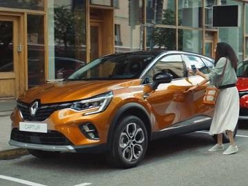 Renault Captur Commercial Girl