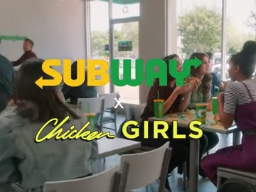 Subway Commercial - Chicken Girls