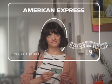 American Express Green Card from Amex Commercial Girl