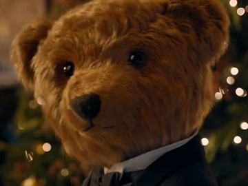 Ralph Lauren Christmas Commercial Bear