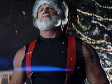 Dodge Commercial - Bill Goldberg Dressed as Santa