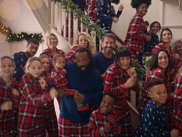 M&S Go Pyjamas Christmas Advert
