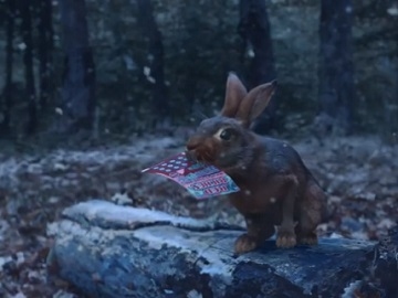 New York Lottery Christmas Commercial - Rabbit