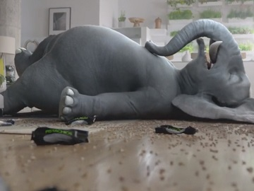 Wonderful Pistachios Ernie the Elephant Commercial