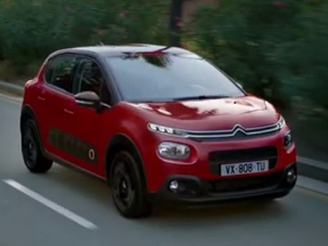 Citroen C3 Red Commercial