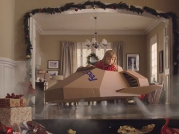 FedEx Christmas Commercial - Feat. Little Girl in Plane