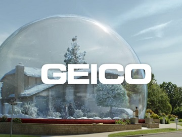 GEICO Insurance Snow Globe Commercial