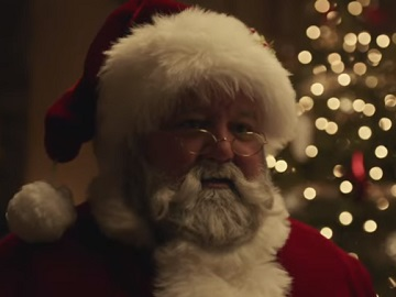 Mercedes Commercial Santa