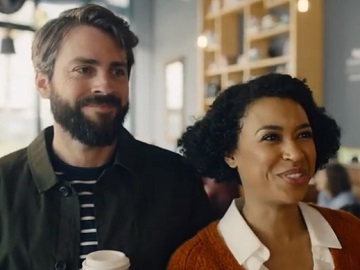 British Airways Christmas Advert Couple