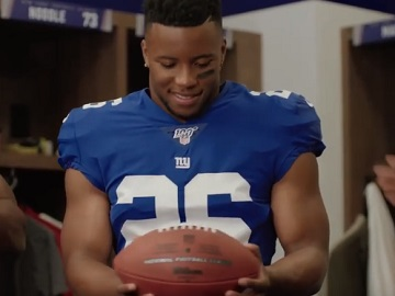 Campbells Chunky Game Soup Commercial - Saquon Barkley