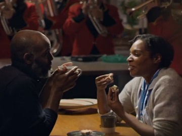 Co-op Christmas Advert Couple