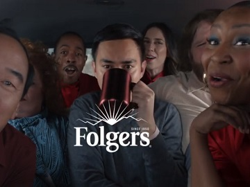 Folgers Coffee Carpool Commercial