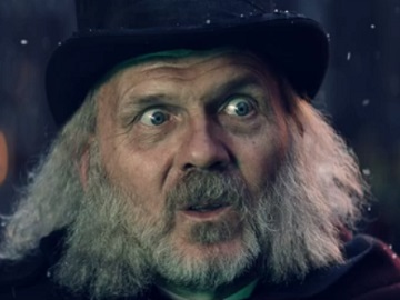 Specsavers Scrooge Advert