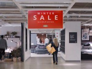 IKEA Winter Sale Commercial