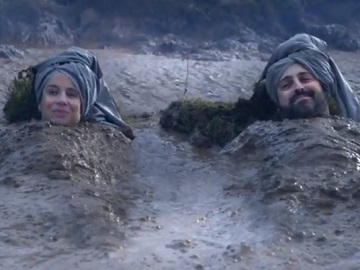 Asda Advert - Couple in Deep Mud