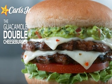 Carl's Jr Guacamole Double Cheeseburger Commercial